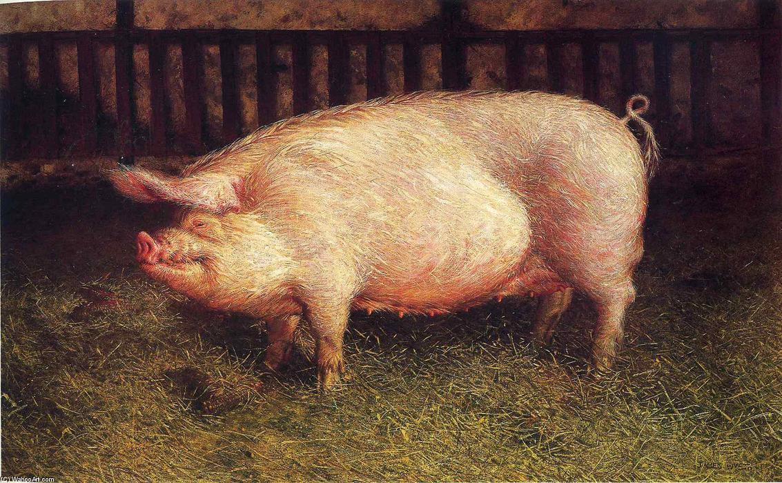 Jamie-Wyeth-Portrait-of-Pig
